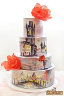 wedding photo - Prague Wedding Cake