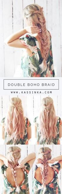 wedding photo - Boho Bridal Braid