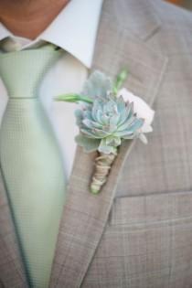 wedding photo - Wedding Buttuniere