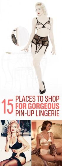 wedding photo - 15 Vintage-Inspired Lingerie Stores You'll Wish You Knew About Sooner