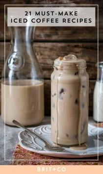 wedding photo - 21 Refreshing Iced Coffee Recipes