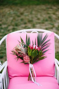 wedding photo - Aloha Themed Bridal Shower