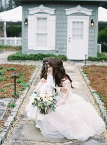 wedding photo - A Cozy Inn Wedding That Would Make Any Gilmore Girl Jealous