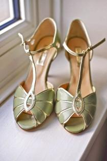 wedding photo - 18 Wedding T Bar Shoes To Look Elegant