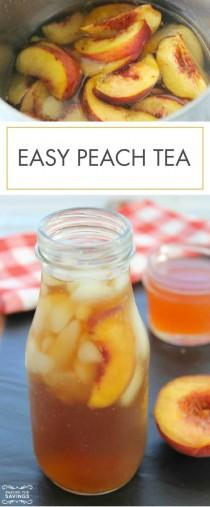 wedding photo - Easy Peach Tea