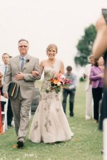 wedding photo - Rustic Indian Fusion Wedding In Wisconsin