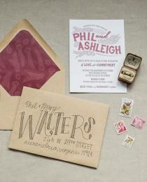 wedding photo - Wedding Invitations & Event Stationery - Whimsy Design Studio