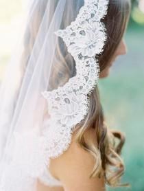wedding photo - Beautiful Lace Veil