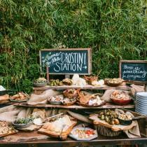 wedding photo - Food Bar Ideas For Your Wedding
