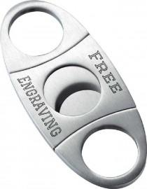 wedding photo - Cigar Cutter, Personalized Cigar Accessory, Stainless Steel Cigar Cutter, Engraved Cigar Cutter, Groomsmen Gift, Wedding Gift,Free Engraving