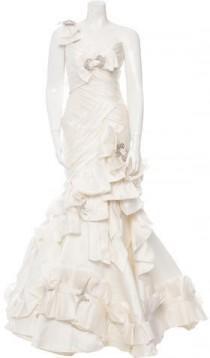wedding photo - Pnina Tornai Jewel-Embellished Lace-Up Wedding Dress