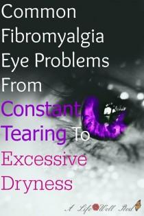 wedding photo - Common Fibromyalgia Eye Problems ~ From Constant Tearing To Excessive Dryness