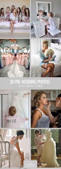wedding photo - 30 Must Take Pre-Wedding Photos