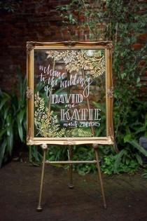 wedding photo - 16 IKEA Wedding Hacks For The Prettiest And Most Affordable Signage