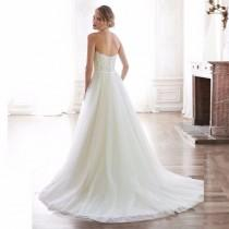 wedding photo - Lace Appliques Wedding Gown