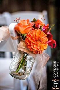 wedding photo - 18 Incredible Ideas For Fall Wedding Decorations