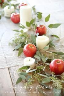 wedding photo - Easy Entertaining And An Effortless Fall Table