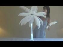 wedding photo - Ostrich Feather Centerpiece Tutorial