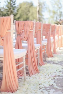 wedding photo - Pink Wedding Chair