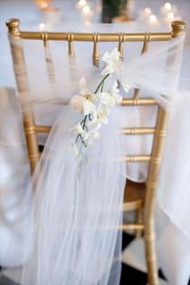 wedding photo - Décoration Mariage: Quelle Housse De Chaise Choisir?