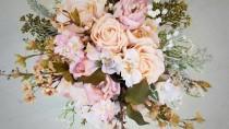 wedding photo - Bridal Bouquets, Bridal Bouquet, Wedding Bouquets, Wedding Flowers, Artificial Wedding Bouquet, Bridal Flowers, Silk Flower Bouquet, Flowers