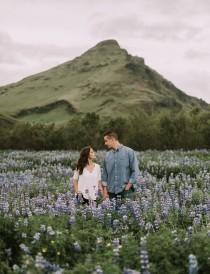 wedding photo - Surprise Icelandic Waterfall Proposal: Jenny + Shawn