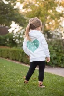 wedding photo - Flower Girl Hoodie