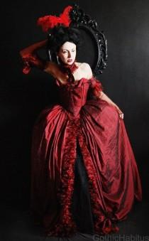 wedding photo - Rococo Dress In Red