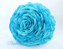 wedding photo - Glamelia. Glamelia bridal bouquets. Sky blue bouquets. Glamelia flower wedding bouquets. Glamelia bridal bouquet diy. EVA foam rose