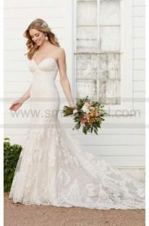 wedding photo - Martina Liana Strapless Fit And Flare Wedding Dress Style 803
