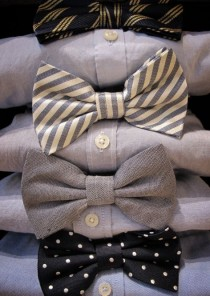 wedding photo - MenStyle1- Men's Style Blog - Coolintheheat:   Bowties