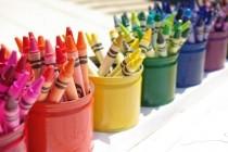 wedding photo - Upcycled Montessori-Style Crayon Holder {Tutorial} - Happiness Is Homemade