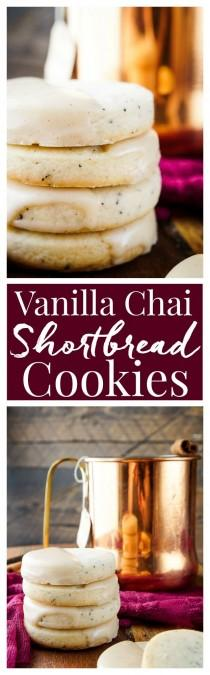 wedding photo - Vanilla Chai Shortbread Cookies