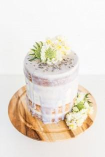 wedding photo - Piece Of Cake: A (Semi Homemade) Lavender Glazed 5 Layer Cake - Paper And Stitch