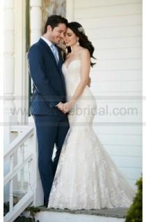 wedding photo - Martina Liana Fit And Flare Wedding Dress With Strapless Sweetheart Bodice Style 789