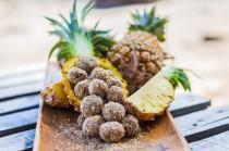 wedding photo - Pineapple Bliss Balls - Happy Hormones