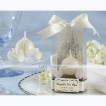 "wedding photo - Beter Gifts®""Happily Ever After"" Carriage Candle Bridal Shower Favors"