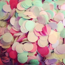 wedding photo - TISSUE PAPER CONFETTI / Wedding Decorations / Party Confetti / Table Decoration / Flower Girl / Balloon Confetti / Pastel Decorations