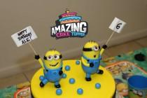 "wedding photo - Minions Fondant Cake Topper (2 Pieces Set). Ready to ship in 3-5 business days. ""We do custom orders"""