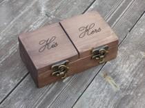 wedding photo - reclaimed wood ring box wood ring box wedding wedding ring box wedding ring holder Proposal ring box wedding ring holder ring bearer box