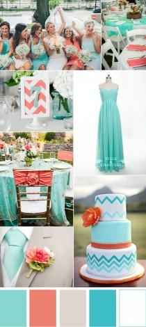 wedding photo - Five Refreshing Wedding Color Ideas That Brides Will Love