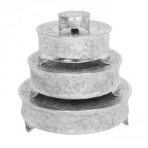 wedding photo - Aspire 4 Piece Round Cake Stands Set