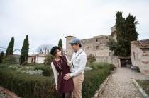 wedding photo - Vacay goals: This Italy trip doubled as a traveling engagement shoot