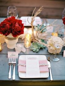 wedding photo - Set Your Table This Season With Delightful DIY Decorations