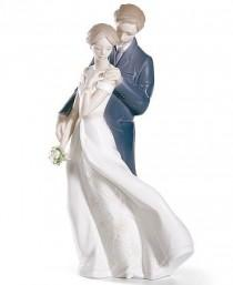 wedding photo - Lladro Collectible Figurine, Everlasting Love