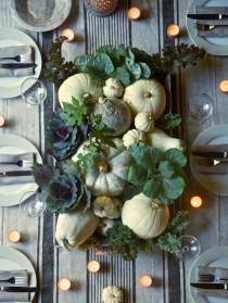 wedding photo - 25 Stunning Thanksgiving Centerpieces And Tablescapes