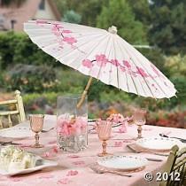 wedding photo - Cherry Blossom Parasol