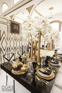 wedding photo - Great Gatsby Glamour At Urban Unveiled LA
