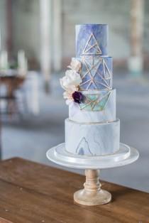 Wedding Ideas Geode Weddbook - Geode Wedding Cake