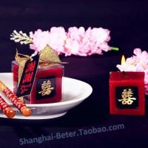 wedding photo - Chinese Wedding Favor Candle Bridesmaids souvenir LZ027